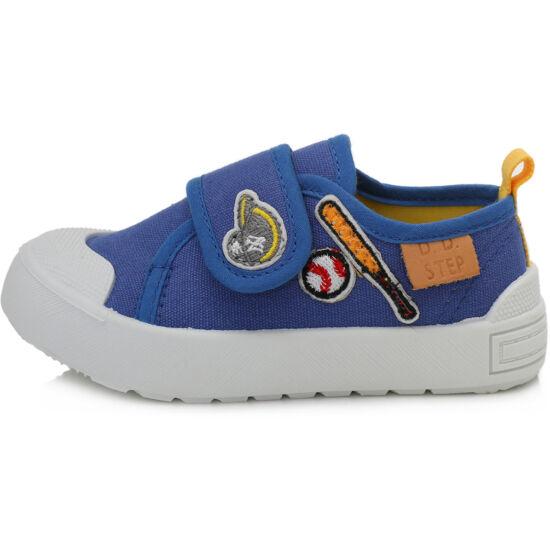 D.D.Step fiú vászon gyerekcipő