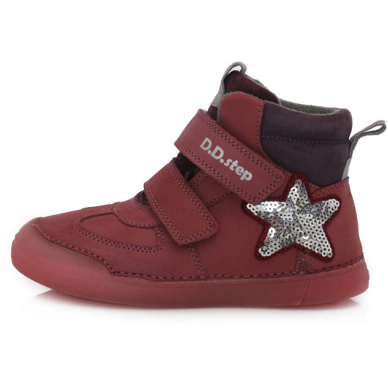 D.D.Step lány téli bélelt gyerekcipő