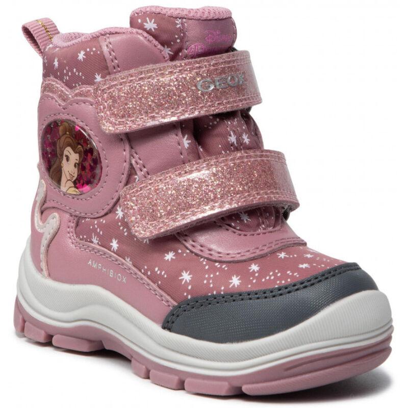 Geox lány téli bélelt gyerekcipő
