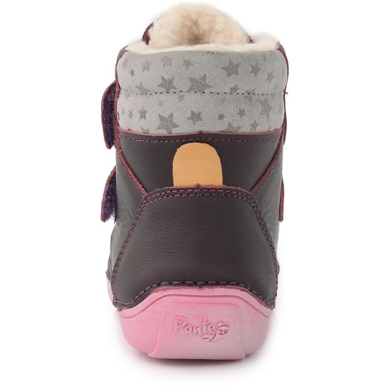 Ponte20 lány supinált téli bélelt gyerekcipő