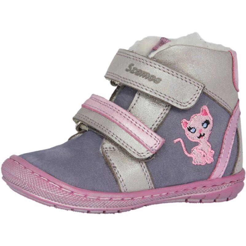 Szamos lány téli bélelt gyerekcipő